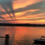 Starnberger See, Sonnenuntergang