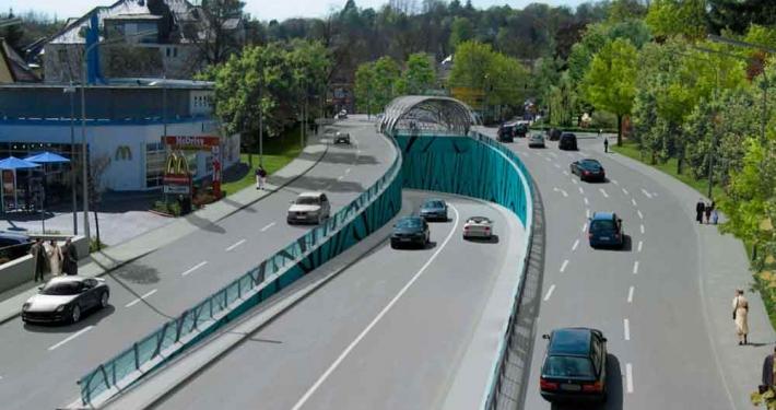 So koennte die Einfahrt des Tunnels in Starnberg aussehen