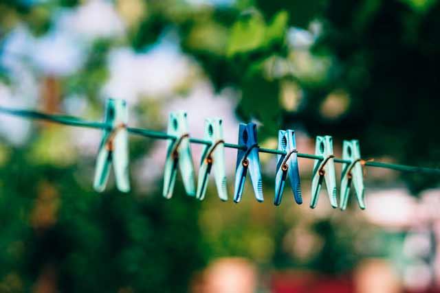 Tipps zum umweltfreundlichen und energiesparenden Waschen – Wäscheleine