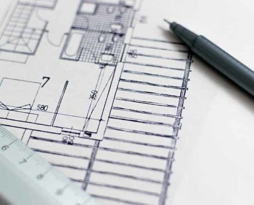Architektenpläne