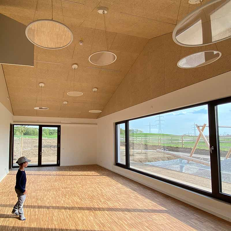 Kinderhaus Perchting, Innenansicht
