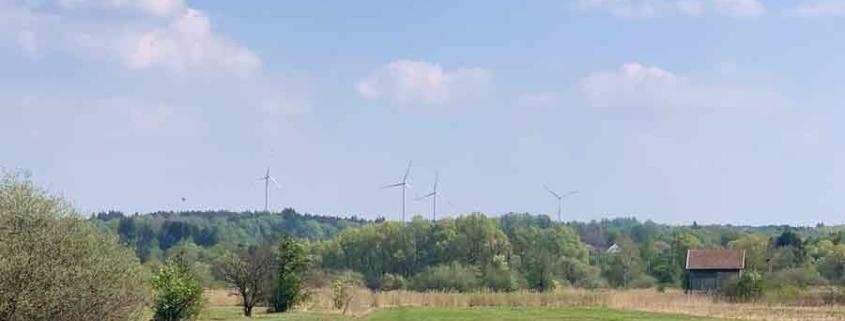 Windräder in Berg am Starnberger See